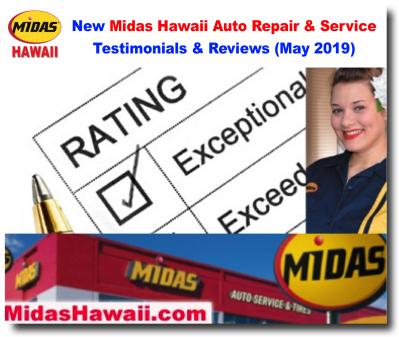Midas Brake Coupons >> Midas Hawaii Auto Repair - Brakes, Oil Change, Tires, Lube, Maintenance, Air Conditioning ...