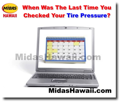 When Was The Last Time You Checked Your Tire Pressure? - Oil